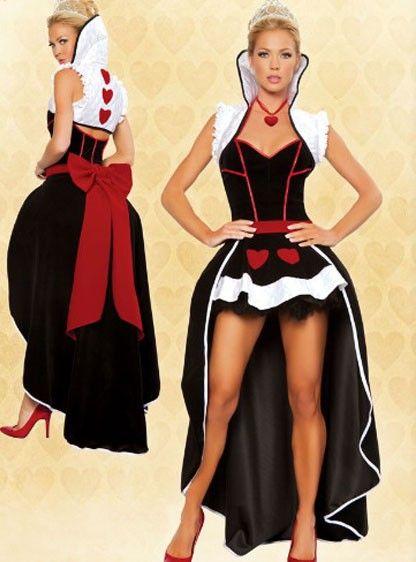 Disfraz de reina para mujer