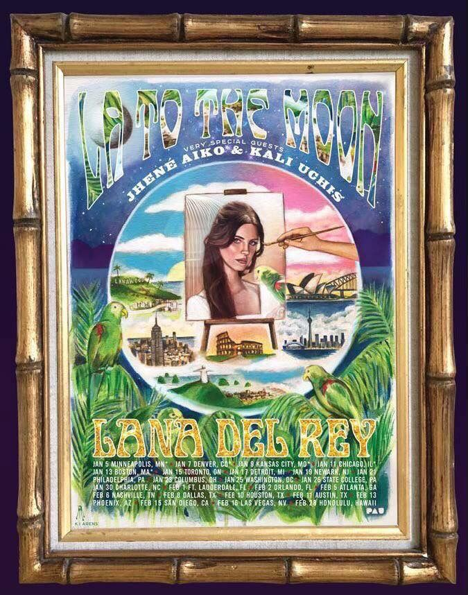 Lana Del Rey announces North American tour with Jhené Aiko and Kali Uchis