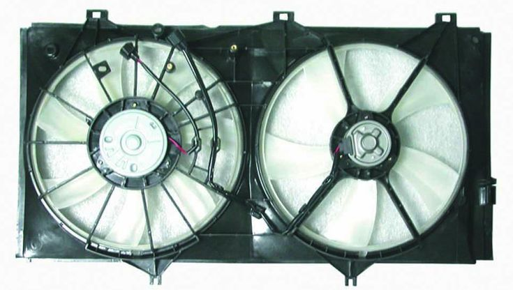 Toyota Camry V6 07-10 Avalon V6 05-10 / Avalon 11 Radiator AC Fan Assembly