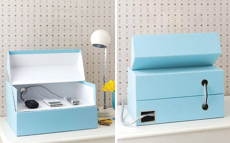 How To Hide Your Cables: DIY Charging Station