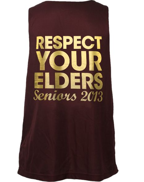 Alpha Phi Respect Jersey - Back