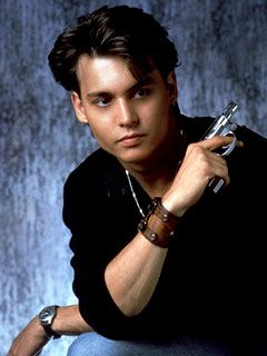 Johnny Depp in 21 Jump Street - the first time I fell in ♥ with him... ;)