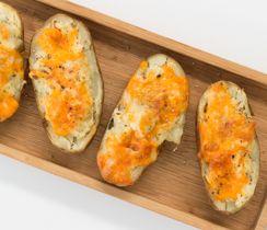 Twice-baked Caesar Potatoes