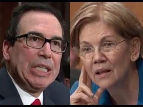 """""""THAT'S NOT MY QUESTION!!!"""" Elizabeth Warren DESTROYS Trump Lackey Steve..."""