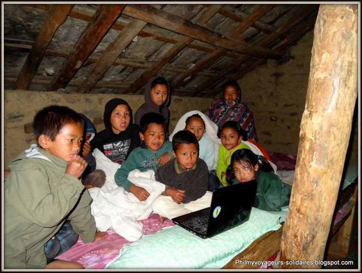 The children at the Phutang Orphanage