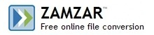 Zamzar is a web application to convert files and supports over 1,000 different conversion types. Ex. Adobe PDF file to a Microsoft Word document.