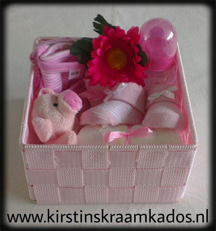 Kraammandje roze