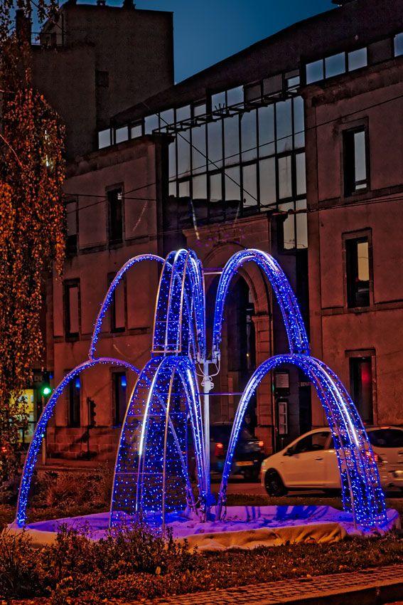Limoges à Noël #Limoges #christmas #noël #town #Limousin #night
