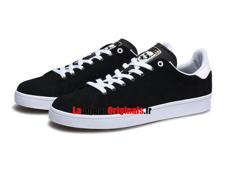 Adidas Skateboarding Stan Smith Vulc - Chaussure Adidas Originals Pas Cher Pour Homme/Femme Noir/Blanc BB8743-Boutique Adidas Originals de Running (FR) - LaAdidasOriginals.fr