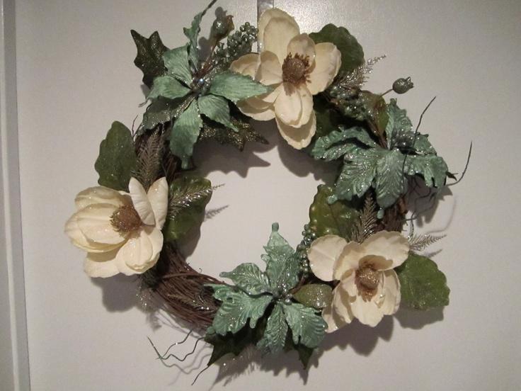 beautiful winter wreath
