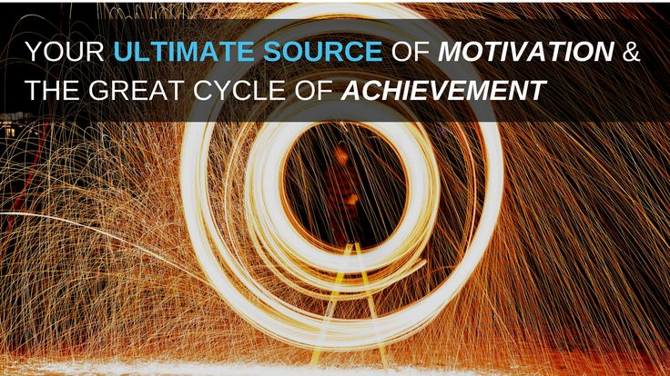 How to Find Your ULTIMATE Source of Motivation & The Great Cycle of Achievement