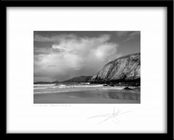 Giles Norman Gallery - black and white landscape photo of Beach. Prices range from €55 to €250 for different sizes