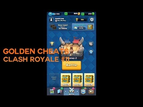 Golden Cheats - Clash Royale Indonesia #11