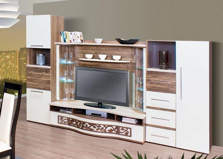 Absolut szekrénysor LED világítással  http://komarombutor.hu/nappali_butor/absolut_nappali