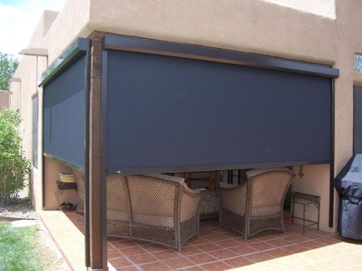 Pin By Budget Blinds Official On Motorized Somfy Shades D Patio Outdoor