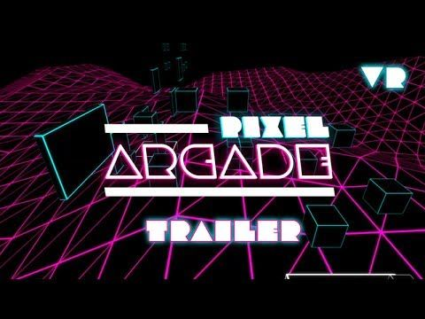 I made a platformer game in Virtual Reality 'Pixel Arcade'