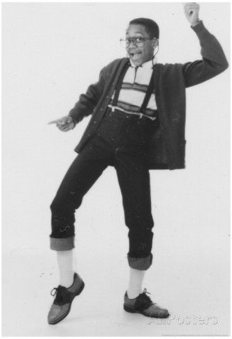 Family Matters Steve Urkel Dancing Archival Photo TV Poster Affiches sur AllPosters.fr