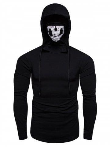 7dae97d0f54b Autumn Men s Face Mask Hoodies