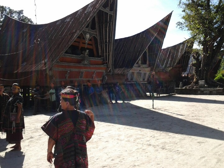 Toba traditional house