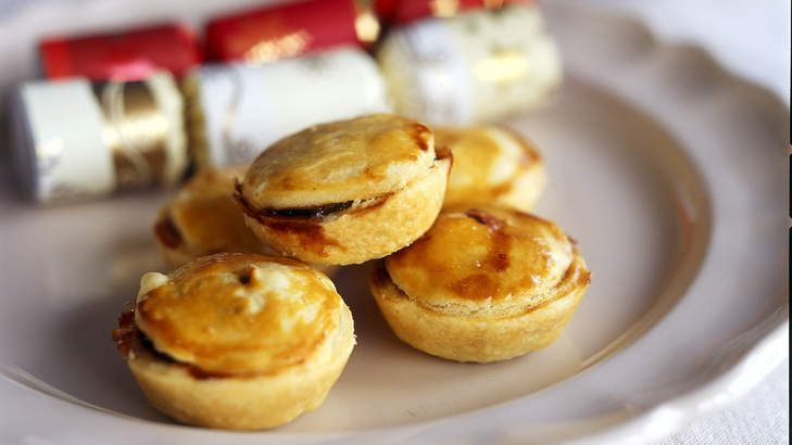 Christmas classic: Mince pies from Stephanie Alexander.