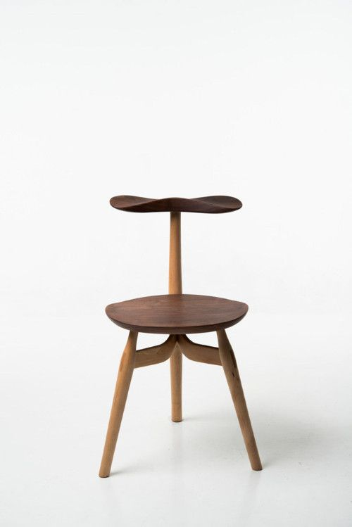 Trialog Chair is a minimalist design created by Norway-based designer Phillip Von Hase. Trialog is a three legged wooden chair, designed for...