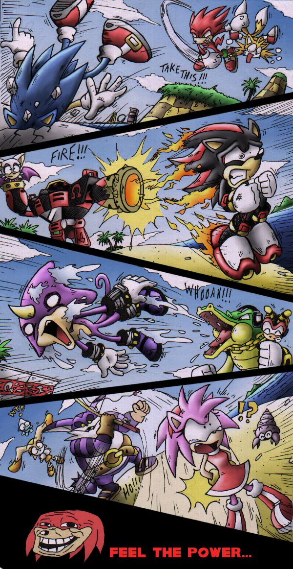 SONIC HEROES by Raito-Sarudoi.deviantart.com on @deviantART XD this had me cracking up!