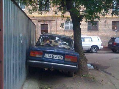 Russiske bilister - Videoer med russere i trafikken - Skørt