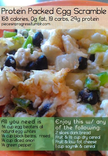 EGG SCRAMBLE | Gettin' Healthy | Pinterest