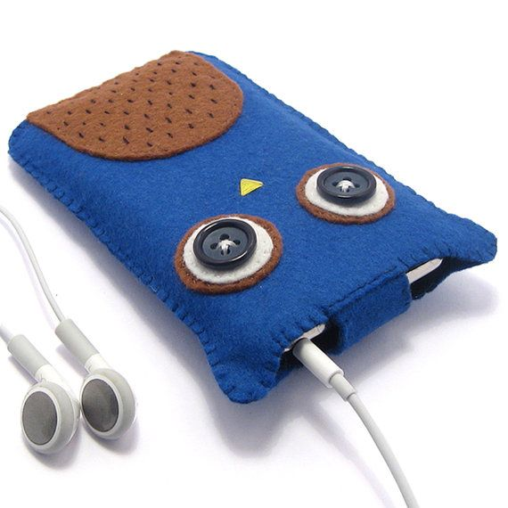 Owl Blackberry Curve Case / Samsung Galaxy S3 / di minifelts, £20.00