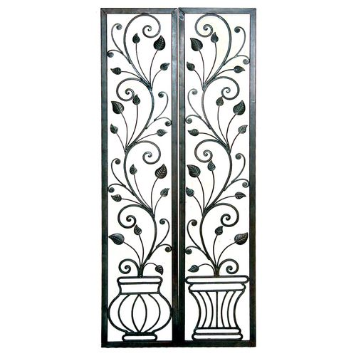 15 best images about Wrought Iron Wall Decor on Pinterest