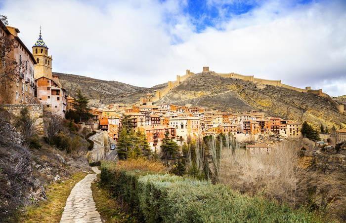 Aragon pueblo de Albarracín