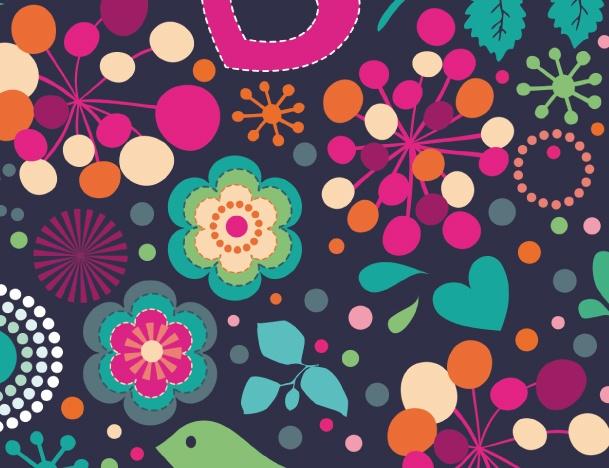 Love & Flowers - Blackberry Bold 9700 9780