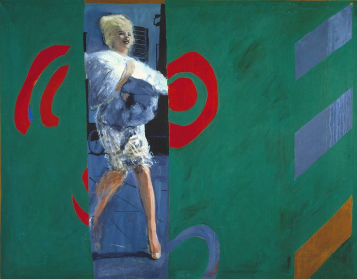 The Only Blonde in the World, 1963. Tate Gallery Liverpool.