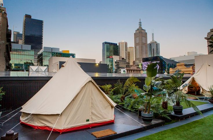11 Things You Don't Know About Melbourne's Rooftop Camping Hotel | Melbourne | The Urban List
