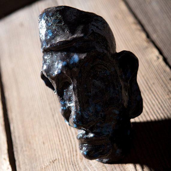 Man of Africa. A sculpture of ceramic by SamoPL on Etsy