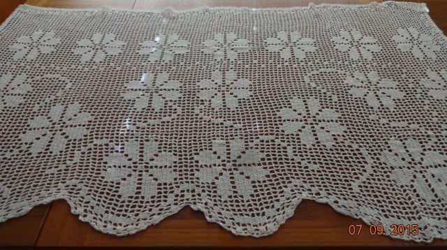 Crocheted Curtain #6