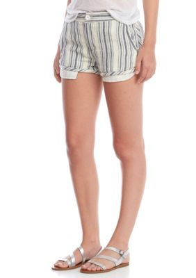 Free People Women's Night Moves Striped Short -  - No Size