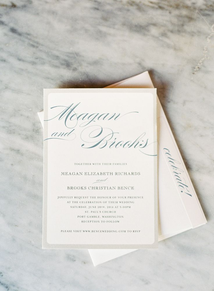not on the high street winter wedding invitations%0A Elegant Literary Wedding in Port Gamble