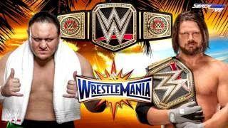 WWE WrestleMania 33 Full Dream Match Card - VidsN