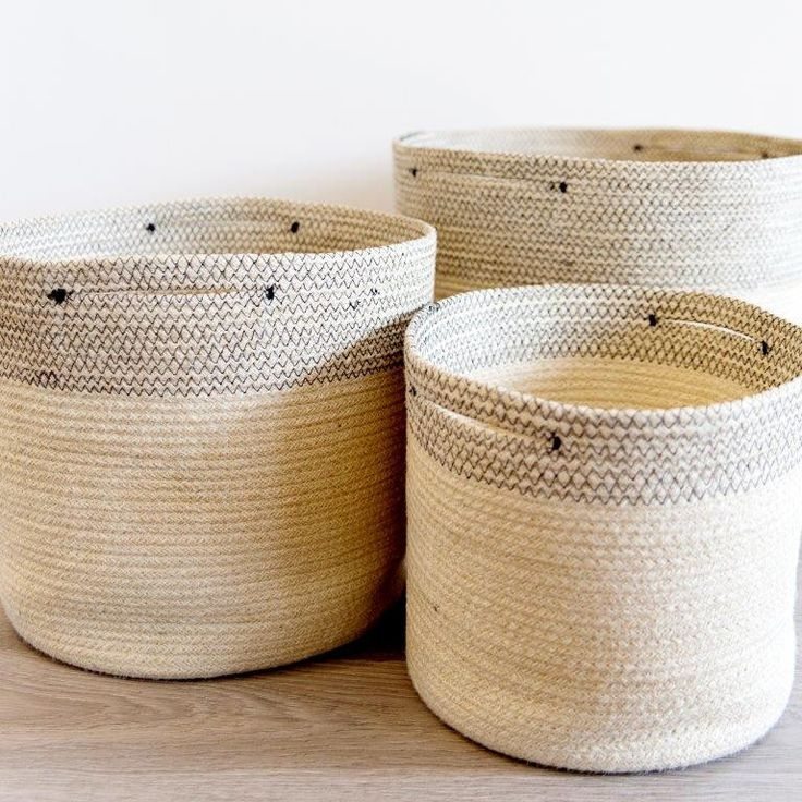 Looking for something to store those towels, toys and plants in the beach house? Our Jute Baskets are the answer. ✖ www.whiteandco.com.au