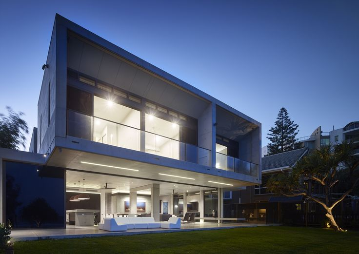 Residential Architecture – Houses (New) Award – 2A Concrete by Shane Denman Architects. Photo by Scott Burrows.