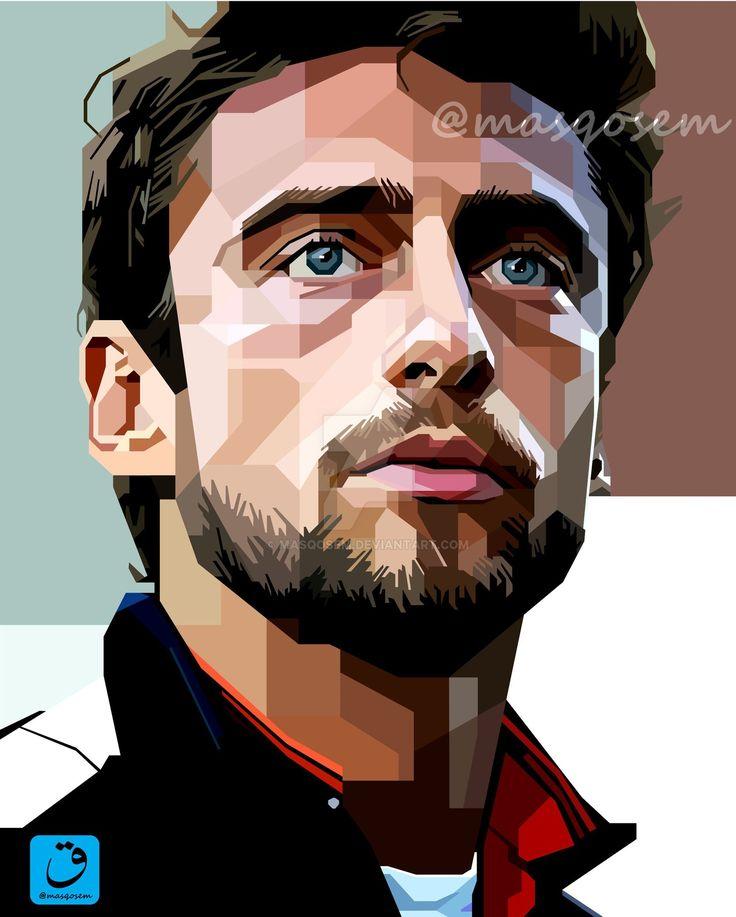 Claudio Marchisio in skintone of WPAP by masqosem.deviantart.com on @DeviantArt
