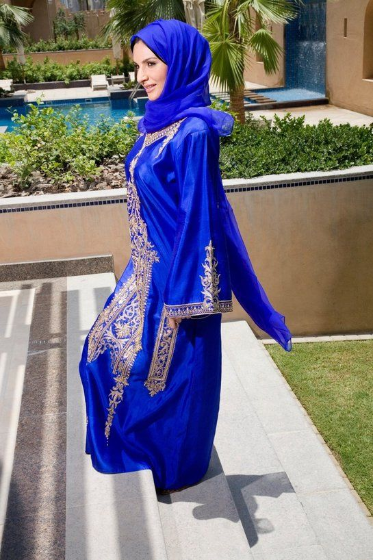 Hidžáb je šatka, v ktorej vidieť celú tvár.