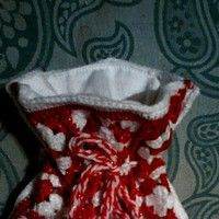 Háčkovaný pytlíček na drobnosti pro Siennku