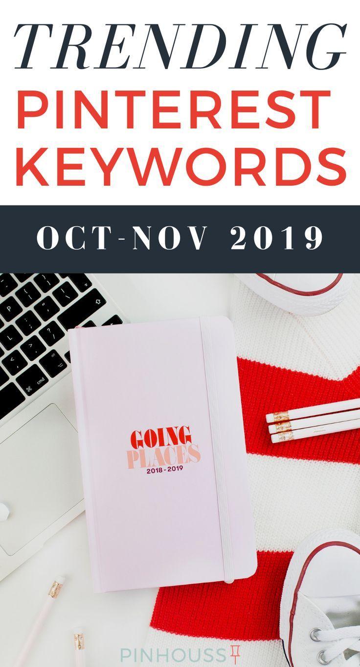 Die Trend-Keywords, die Sie in diesem Oktober und November verwenden sollten. Pinterest m …