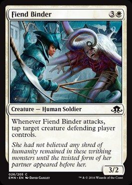 Magic: the Gathering - Fiend Binder (026/205) - Eldritch Moon