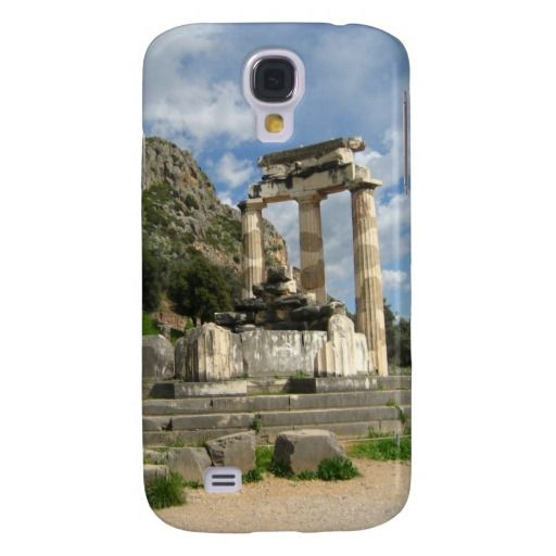 Temple of Athena Pronaea - Delphi Samsung Galaxy S4 Case