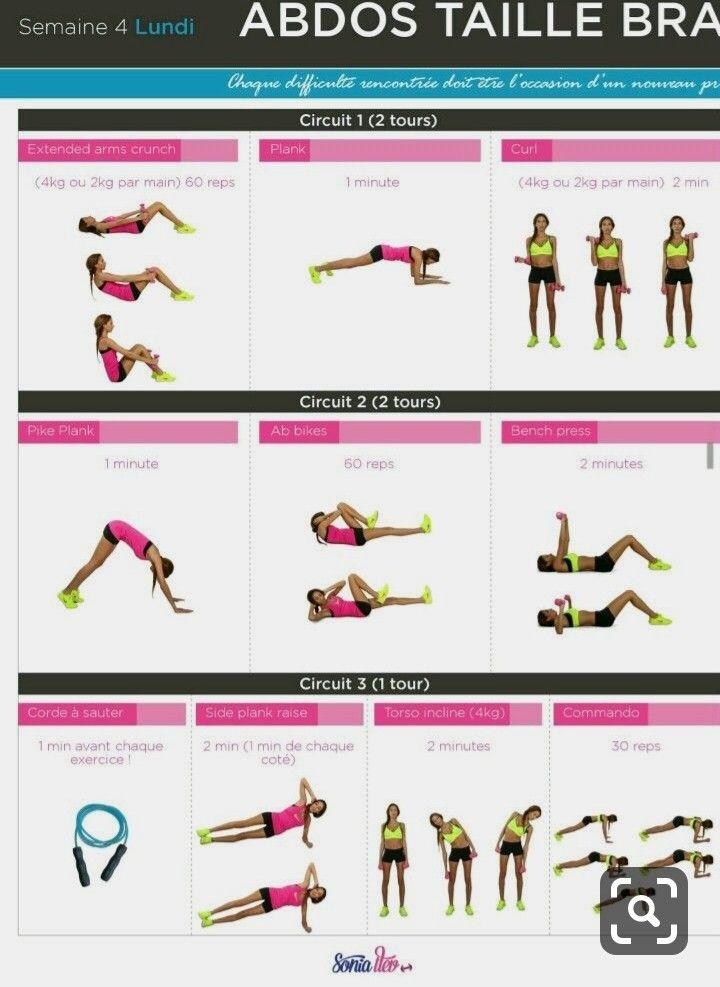 Épinglé sur Exercices de fitness