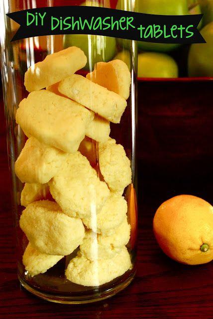 DIY Dishwasher Tablets  recipe from Cuckoo for Coupon Deals  (makes 22 tablets)  1 C Borax  1 C Arm & Hammer Washing Soda  1/2 C Epsom salt  3/4 C lemon juice