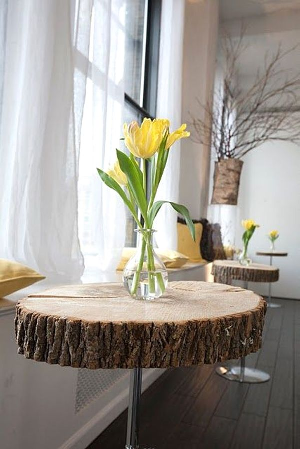 oltre 25 fantastiche idee su tavolo in tronco di albero su